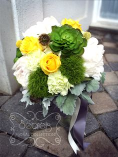 billy button and carnations - Google Search