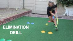 Want to beat players in a 1 v 1? Try this elimination drill to improve your field hockey elimination skills...