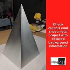 #stainless steel #pyramid #diy project https://metalscut4u.com/blog/stainless-steel-giant-russian-prana-pyramid-a-customer-gives-some-background.html  #metal #DIY #homerenovation