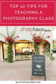 Here are my top 10 tips for teaching a photography class. http://shutterteachers.myshopify.com/blogs/blog/15145181-10-tips-for-teaching-a-photography-class