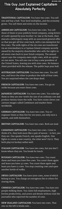 Capitalism Explained. This Is So Accurate It Hurts.