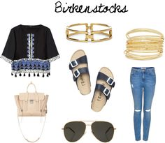 Considering trying the #Birkenstock trend? I'll show you how to wear these sandals now at www.FashionMeKnot.blogspot.com