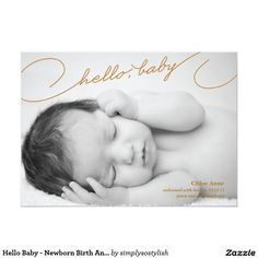 Girl photo birth announcement card letter block pinterest girl photo birth announcement card letter block pinterest letter blocks birth and babies stopboris Image collections