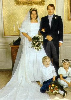 Wedding of Prince Christian Sigismund of Prussia  and Countess Nina zu Reventlow on 29 Sep 1984
