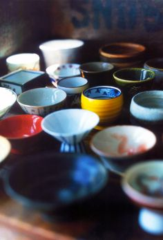 Sake cups, this would be so cool for measuring bowls when cooking! I can't wait to get money to start collecting them!