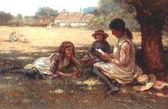Reading ~ William Kay Blacklock ~ (English: 1872-1924)