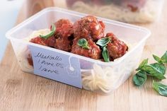 Meatballs in rich tomato sauce