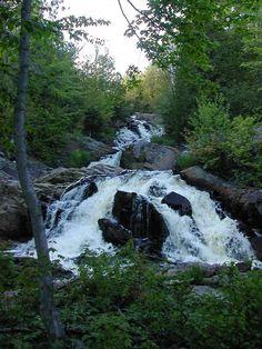 Duchesnay Falls, North Bay, Ontario, Canada