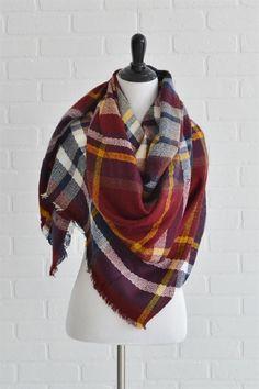 Blanket Scarf gryffindor colors