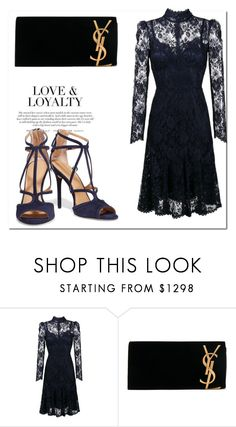 """Kate Effect.."" by nfabjoy ❤ liked on Polyvore featuring Dolce&Gabbana, Yves Saint Laurent and Halston Heritage"