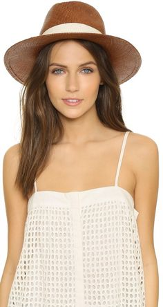 Panama Continental Hat by Hat Attack on ShopStyle