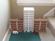 The GameCraft foam core skyscraper I ordered arrived a few weeks back, but life kept me from getting around to it until now.  My first impression is the pieces look nice and are fairly sturdy.  I i…