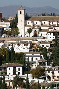 Iglesia de San Nicolás. Albaicin. Granada, Spain, via Flickr. Granada Andalucia, Andalucia Spain, Granada Spain, Beautiful Places To Visit, Wonderful Places, The Places Youll Go, Places To See, Travel Around The World, Around The Worlds