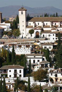Iglesia de San Nicolás. Albaicin. Granada, Spain, via Flickr.