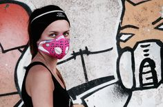 Respro® CiNQRO™ Mask Pink http://respro.com/store/product/cinqro-mask