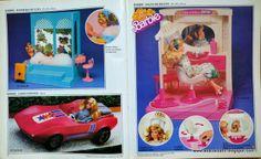Barbie chega ao Brasil em 1982.