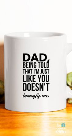 Gift For Daddy From Son – Coffee Mug - White - 11oz