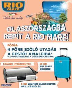 Rio Mare Nyereményjáték