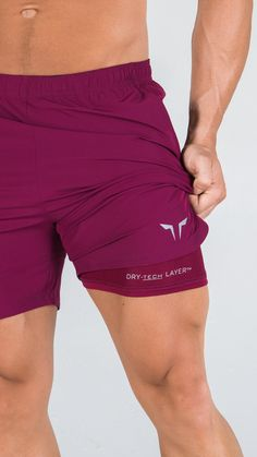 cb359aa4960 Layered for Performance Dry Tech Shorts are 2-in-1 compressions shorts  designed for