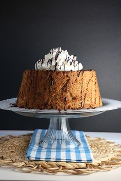 Father's Day Cappuccino Angel Food Cake | Eat In Eat Out Magazine