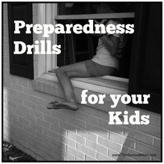 Do your kids know what to do if a fire breaks out at home? How about an active shooter situation or a tornado? Get tips for real-life drills here! | via www.TheSurvivalMom.com