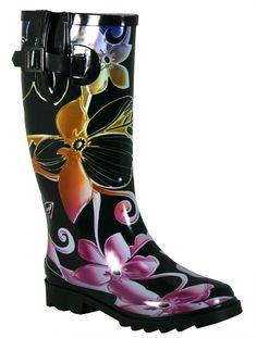 Chooka Rain Boots -- even the name makes me smile! c/o www.westernchief.com