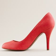 mona red pumps