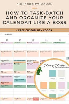 Google Calendar, Self Development, Personal Development, Do It Yourself Organization, Calendar Organization, Stress Less, Mindful Living, Time Management, Business Management