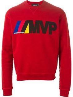Dsquared2 Mvp Print Sweatshirt - Noténom - Farfetch.com