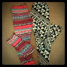 Set of 2 Charlotte Russe Leggings One size L One size XL Leggings worn some still look nice Pants Leggings