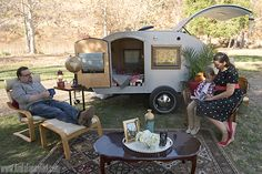 Take your outdoors trip to the next level with these details that take it from camping to glamping. #FallGlamping [ad]