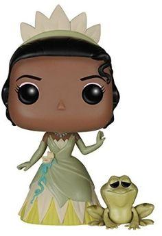 Funko - POP Disney - Princess & the Frog - Princess Tiana &