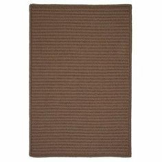 """Simply Home Solid Cashew Braided Rug Rug Size: 42"""" x 66"""" by Colonial Mills. $153.63. H286R042X066S Rug Size: 42"""" x 66"""" Features: -Technique: Braided.-Material: 100pct Polypropylene.-Origin: USA.-Reversible.-Stain resistant.-Fade resistant. Construction: -Construction: Hand guided. Dimensions: -Pile height: 0.5"""".-Overall Dimensions: 34-168'' Height x 22-132'' Width x 0.5'' Depth. Collection: -Collection: Simply Home Solid."""