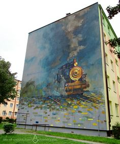 Amazing Street Art by Mgr. Mors