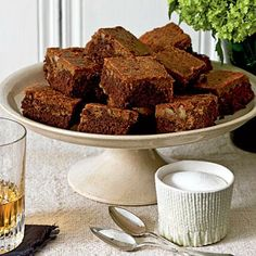 Black and Tan Brownies for St. Patrick's Day | CookingLight.com