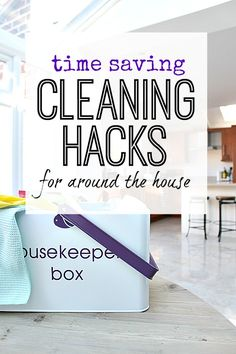 Gain back some time by getting clever with cleaning. Hacks that make life easier. Cleaning made simpler!