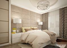 Дизайн квартиры по ул.Антонова (г.Пенза). Спальня