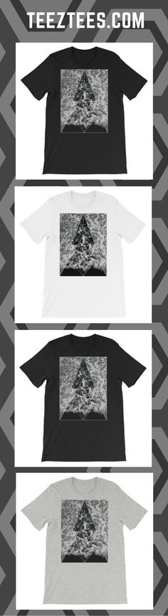 Waves unisex t-shirt by Teeztees Wave Design, New T, Waves, Unisex, Clothing, Cotton, Mens Tops, T Shirt, Inspiration