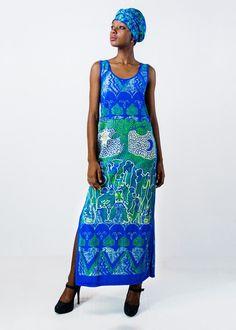 Com o objetivo de criar uma vertente de moda afro-brasileira, Goya Lopes passou seus desenhos do papel para o tecido.
