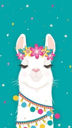 10 Cutesy Llama iPhone Wallpapers Source by Tier Wallpaper, Wallpaper Pictures, Animal Wallpaper, Screen Wallpaper, Wallpaper Quotes, Cute Canvas Paintings, Canvas Art, Llamas Animal, Llama Drawing