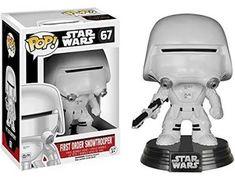 Funko Pop Star Wars 67 First Order Snowtrooper Figure Toy 9cm Free