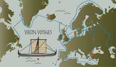 Where the Vikings voyaged – interactive map – HeritageDaily – Heritage & Archaeology News