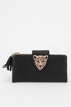 Deena & Ozzy Animal Adorn Checkbook Wallet--I need a new wallet!