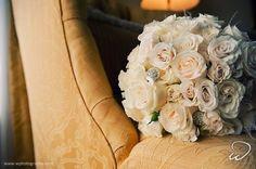 Bejeweled flower bouquet