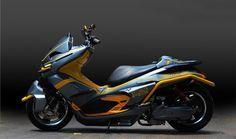 Honda PCX độ phong cách robot - http://xeoto.asia/honda-pcx-do-phong-cach-robot.shtml