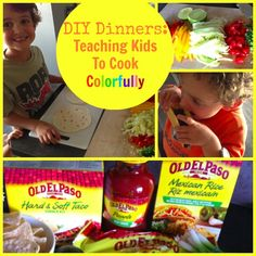 A DIY Dinner Is The Perfect Chance To Teach Kids How To Cook | Babble #familyfunnight #sponsored