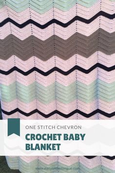 Super Easy Baby Blanket Pinterest 2 Super easy Crochet Baby Blanket for New Arrival