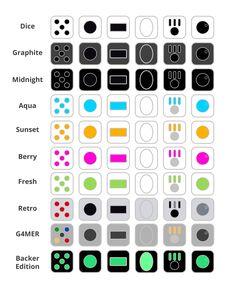 Multi Colors Fidget Cube Children Toy Adults Fun Stress Relief ...