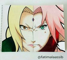 Sakura and Tsunade