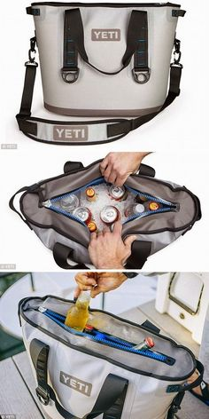 Yeti Hopper World`s First Compact Carry-able Coolers Outdoor Fun, Outdoor Camping, Outdoor Gear, Camping Glamping, Camping Gear, Gifts For Him, Great Gifts, Yeti Cooler, Pin Up